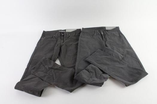 Carbon Freedom Men's Pants, Size 28x30, 2 Pieces