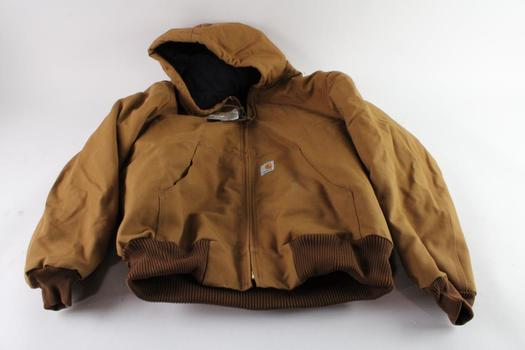 Carhartt Flannel Lined Jacket, Size L