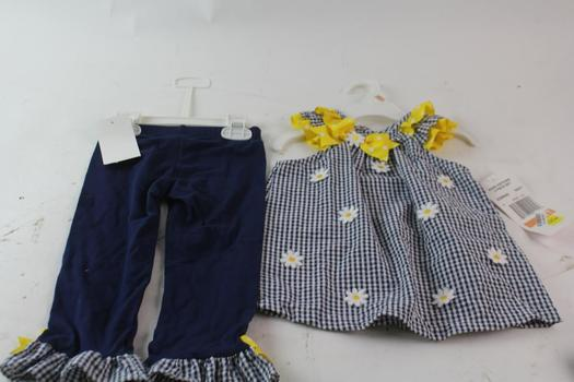 Carter's And Rare Edition Toddler 2-Piece Outfits, 3 Pieces