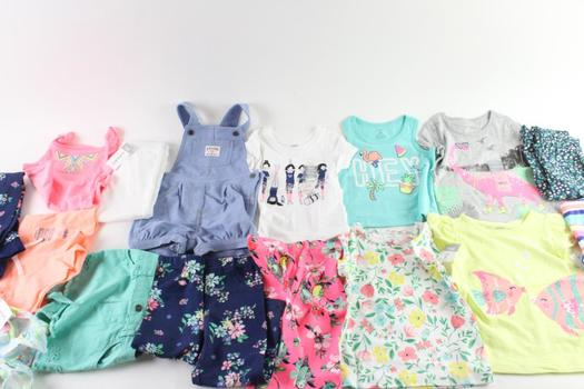 Carters Baby Girl Clothing, 16 Pieces