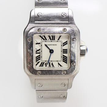 Cartier Santos Ladies Watch - Evaluated By Independent Specialist