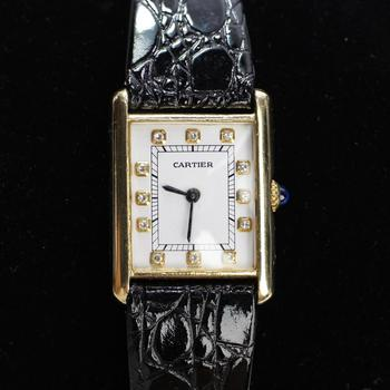 Cartier Tank Louis 18k Gold Watch - Evaluated By Independent Specialist