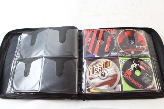 Case Logic CD Case With CDs, 50+ Pieces