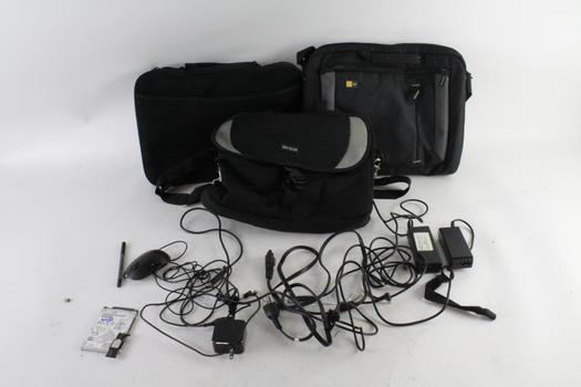 Case Logic, Targus Laptop Bags, And Laptop Chargers, 5+ Pieces