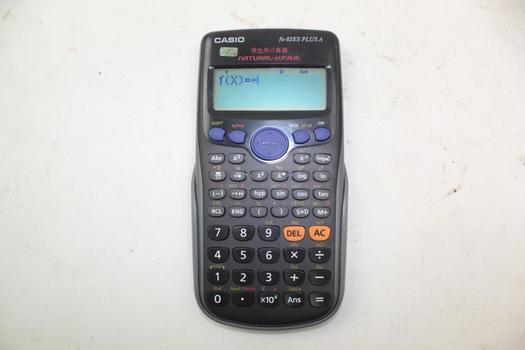 Casio Fx-82es Plus A Calculator