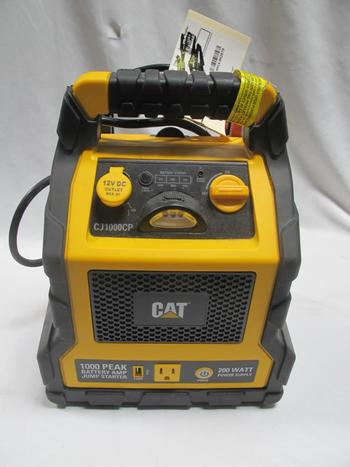 CAT CJ1000CP 1000 Peak Amp Jump Starter, Power Station & Air Compressor