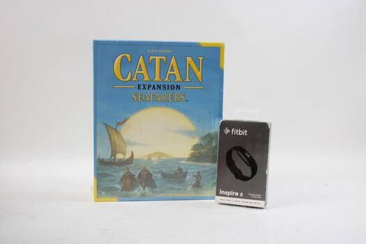 Catan Seafarers Board Game  And Fitbit Inspire 2 Fitness Tracker