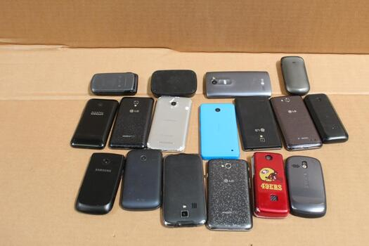Cell Phone Lot,  10 Plus Pieces, Sold For Parts