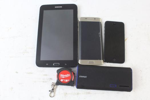 Cell Phone Lot, 2 Pieces, Sold For Parts And More