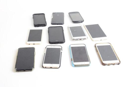 Cell Phone Lot, 6+ Pieces, Sold For Parts