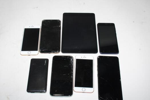 Cell Phone Lot,  6 Pieces, Sold For Parts And Oher