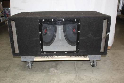 Cerwin Vega Stealth Series Subwoofers In Speaker Box