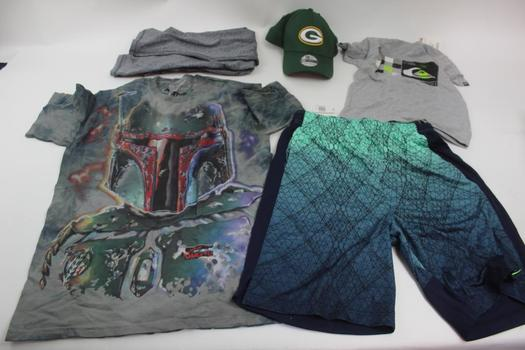 Champion, Disney Parks Star Wars, Quicksilver, & More Assorted Clothing; 6 Pieces