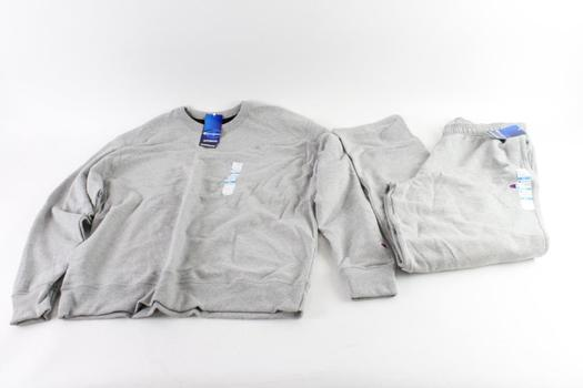 Champion Sweatpants And Sweatshirt, XL, 2 Pieces