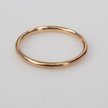 Chanel 18k Rose Gold 2.46g Ring