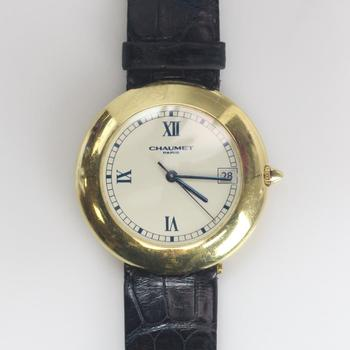 Chaumet 18k Gold Automatic Watch - Evaluated By Independent Specialist