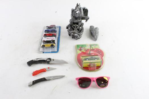 Cheeta Folding Pocket Knife And More, 5+ Pieces