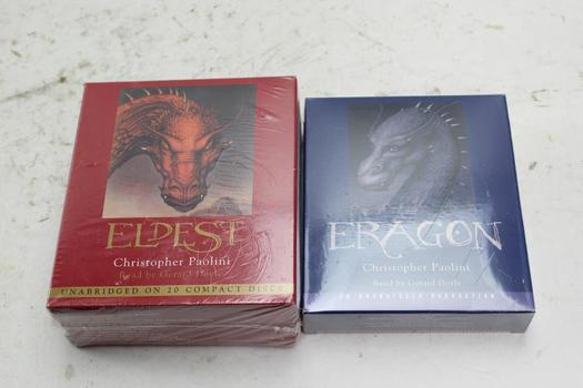 Christopher Paolini Audiobooks, 2 Pieces