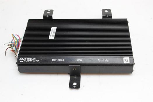 Chrysler Corporation Infinity Amplifier