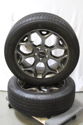 Chrysler Wheels, 2 Pieces