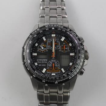 Citizen Eco Drive Sky Hawk Watch