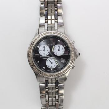Citizen Eco-Drive Diamond Accented Watch