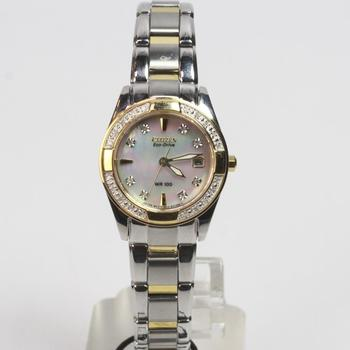 Citizen Eco-Drive Regent Mother Of Pearl Watch