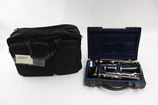 Clarinet With Case, Brand Unknown