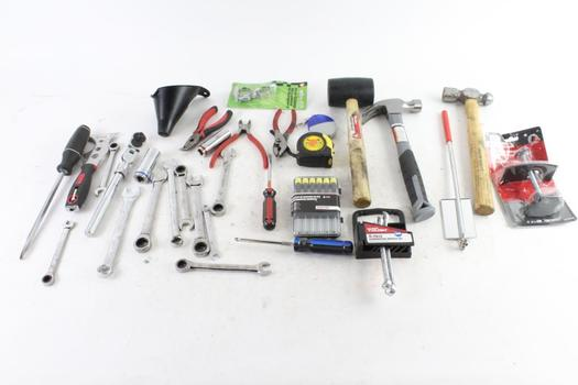 Claw Hammers, Wrenches, And More, 10+ Pieces