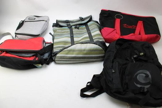 Clive, Ozark Trail, & More Assorted Bags; 5 Pieces
