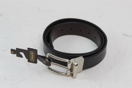 Coach Mens Belt Size OS