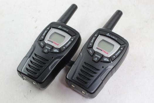 Cobra 2-way Radios, 2 Pieces