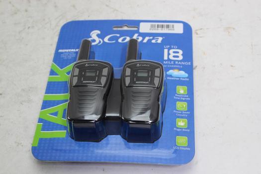 Cobra Microtalk 2 Way Radio Set