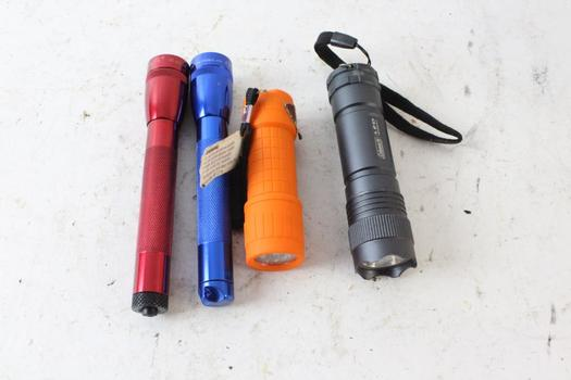 Coleman LED Flashlight And More, 4 Pieces
