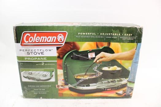 Coleman Perfectflow 2 Burner Stove
