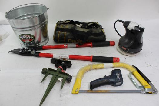 Coleman Rotating Buffer, Corona Lopper And More Various Tools
