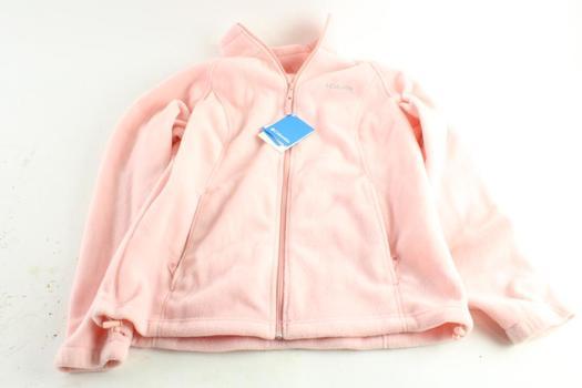 Columbia Fleece Jacket, Size Large