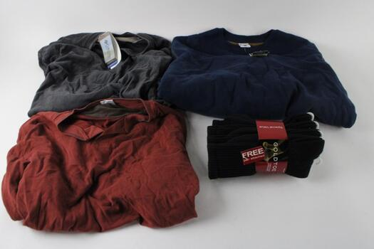 Columbia, Mens L Henley And Sweaters, 3+ Pieces