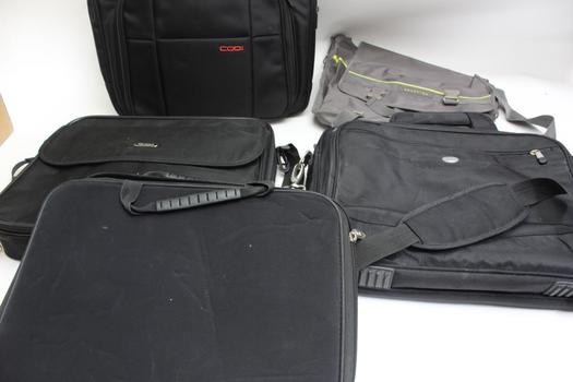 Computer Bags: Dell, Targus, Codi, Kenneth Cole Reaction: 5 Items