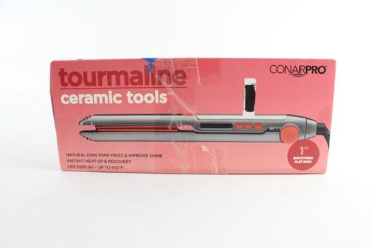 ConairPro Tourmaline Ceramic Tools Smoothing Flat Iron