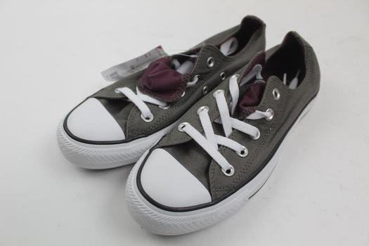 Converse Allstar Charcoal Color Sports Shoes Mesn Size 4