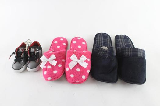 Converse High Street Toddler Shoes, Size 5, And More, 3 Pieces