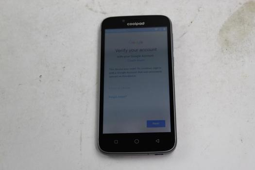 Coolpad Defiant, 8GB, MetroPCS, Google Account Locked, Sold For Parts