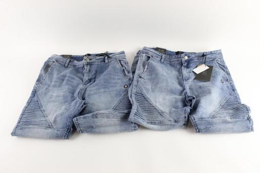 Cotton On Slim Denim Jogger Pants Size 34, 2 Pieces