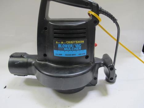 Craftsman Electric Blower/vac Mulcher