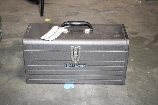 Craftsman Grey Tool Box Storage With Mixed Tools