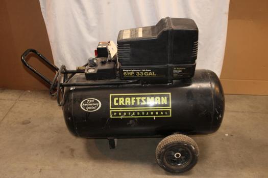 Craftsman Professional 73rd Anniversary Special 33 Gallon Air Compressor