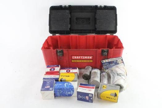 Craftsman Tool Box With Tools, 10+ Pieces