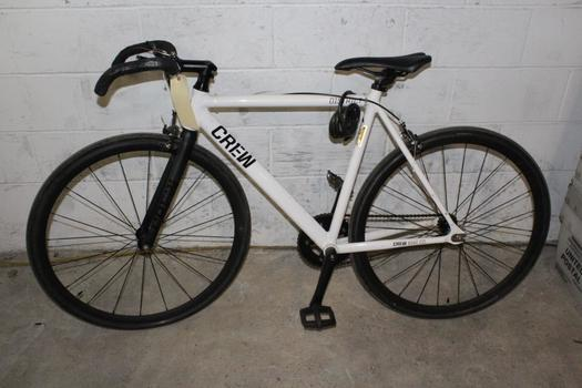 Crew District Single Speed Road Bike