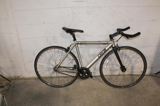 Crew District Single Speed Road Bike